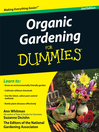 Organic Gardening For Dummies (eBook)